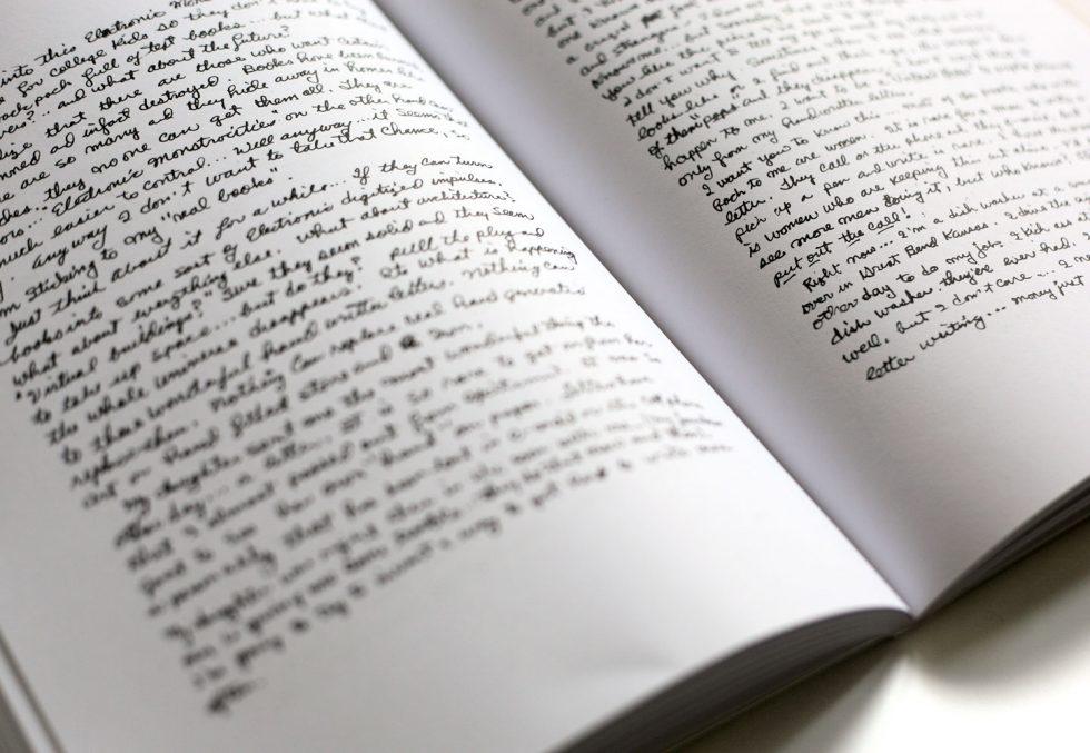 Hand Written Book
